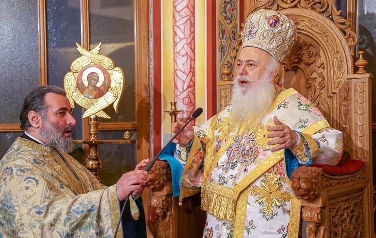 Αγρυπνία επί τη εορτή της αποδόσεως της Υπαπαντής του Κυρίου στη Νάουσας