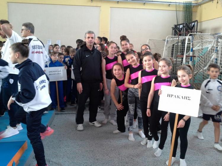 Επιτυχημένη συμμετοχή του Α.Ο. Νάουσας «Ηρακλής» στο «6ο Κύπελλο Τραμπολίνο»
