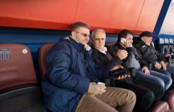 Στα ορεινά η πρώτη «επίσημη» του προέδρου της ΕΠΣΗ στο γήπεδο της Βέροιας
