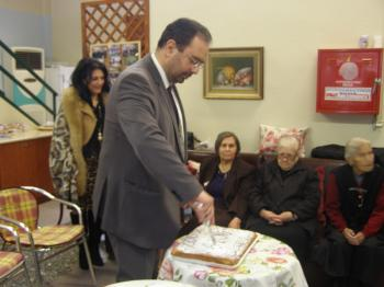 Πραγματοποιήθηκε η ετήσια κοπή βασιλόπιτας του Κ.Η.Φ.Η Δήμου Βέροιας