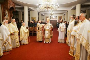 Αγρυπνία επί τη εορτή των συνεργατών του Αποστόλου Παύλου Αγίων Ακύλα και Πρισκίλλης