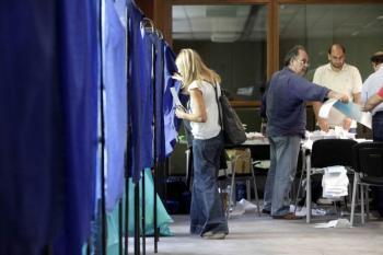 Τετραπλές κάλπες διάρκειας...40 λεπτών για κάθε ψηφοφόρο!