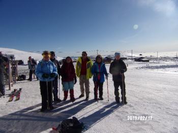 ΒΟΡΑΣ 2524 μ., Κυριακή 17 Φεβρουαρίου  2019- Πορεία στο χιόνι -Με τους Ορειβάτες Βέροιας