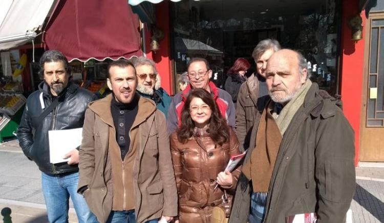 Επίσκεψη αντιπροσωπείας της ΛΑ.Σ. Αλεξάνδρειας σε εμπορικά καταστήματα και λαϊκή αγορά της πόλης
