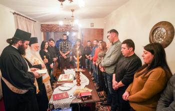 Σύναξη νέων ζευγαριών και ομιλία του Σεβασμιωτάτου στα Κύμινα