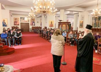 Μαθητές από το 1ο Λάππειο Γυμνάσιο Ναούσης επισκέφθηκαν την Ιερά Μονή Παναγίας Δοβρά Βεροίας