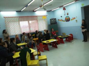 Ομιλία με θέμα «ΔΙΑΠΑΙΔΑΓΩΓΗΣΗ ΠΑΙΔΙΩΝ – ΘΕΤΟΝΤΑΣ ΟΡΙΑ» στον παιδικό σταθμό Μονοσπίτων