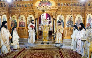 Εορτάστηκε η μνήμη της Αγ.Φιλοθέης της Αθηναίας και τα ονομ/ρια της Γερόντισσας Φιλοθέης στην ΙΜ Αγίας Κυριακής Λουτρού