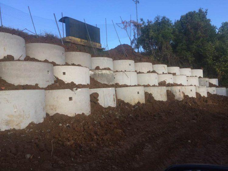 Ολοκληρώθηκε το έργο αντιστήριξης του γηπέδου Ροδοχωρίου