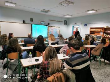 Ενδοσχολική επιμόρφωση εκπαιδευτικών στο 4ο Δημοτικό Σχολείο Βέροιας