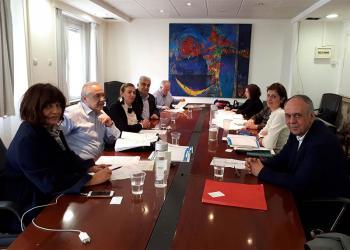 Συνάντηση στο υπουργείο Εσωτερικών για τα προβλήματα μεταφοράς μαθητών
