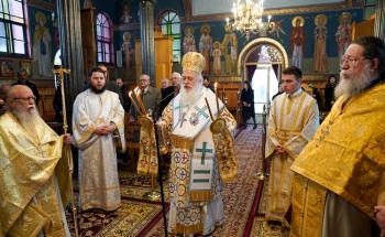 Η εορτή του Αγίου Πολυκάρπου Επισκόπου Σμύρνης στην Πρασινάδα