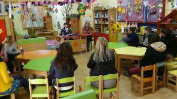 Ενημερωτική ομιλία λογοθεραπεύτριας στον Παιδικό Σταθμό Αγγελοχωρίου