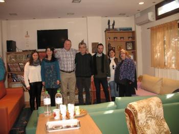 Επίσκεψη του Διευθυντή του Huntsviile Alabama-USA Advocacy Center στην Πρωτοβουλία για το Παιδί