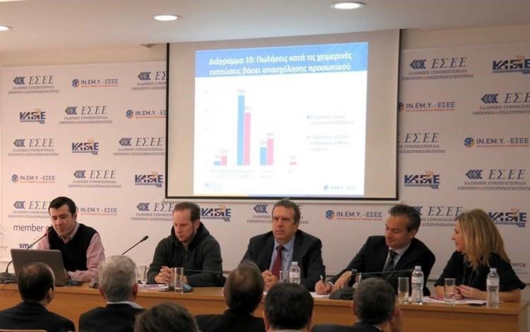 ΕΣΕΕ : Αρνητικά τα αποτελέσματα των χειμερινών εκπτώσεων 2019 για την πλειοψηφία των επιχειρήσεων