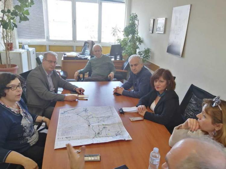Οι βουλευτές Φ.Καρασαρλίδου και Γ.Σηφάκης στην Π.K.Μ. για τον κάθετο άξονα στην Εγνατία οδό