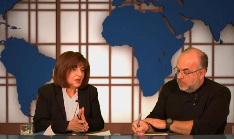 Φρ.Καρασαρλίδου : «Στόχος μας ένα δημοκρατικό μέτωπο, απέναντι στις νεοφιλελεύθερες πολιτικές και την ακροδεξιά»