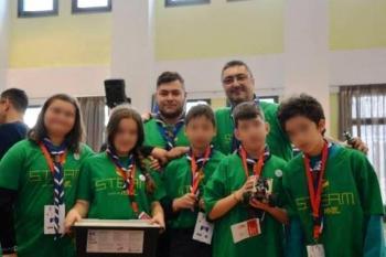 Ολοκληρώθηκε η αποστολή της 5ης Ομάδας Προσκόπων (Astroscouts) στο διαγωνισμό ρομποτικής