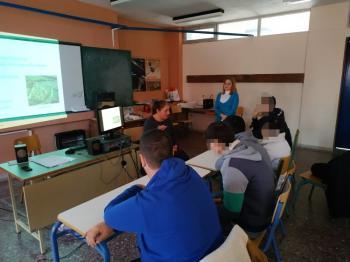 Μουσειοπαιδαγωγός της ΕΦΑ Ημαθίας επισκέφτηκε το Ενιαίο Ειδικό Επαγγελματικό Γυμνάσιο – Λύκειο Βέροιας