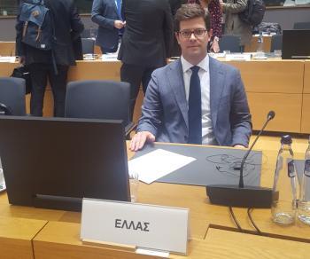 Ά.Τόλκας από το συμβούλιο υπουργών της Ε.Ε. : «Στην Ελλάδα δοκιμάζεται η αλληλεγγύη αλλά και η ευθύνη της Ευρώπης»
