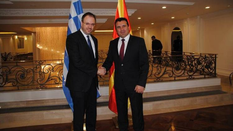 Δήλωση του Θ.Θεοχαρόπουλου μετά τη συνάντηση με τον Πρωθυπουργό της Δημοκρατίας της Βόρειας Μακεδονίας, Ζόραν Ζάεφ
