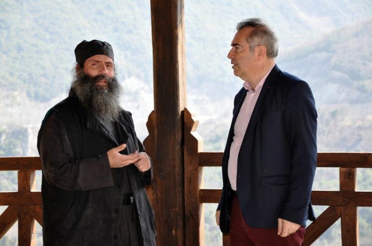 Στην ιερά Μονή Καλλίπετρας ο υποψήφιος δήμαρχος Βέροιας Παύλος Παυλίδης