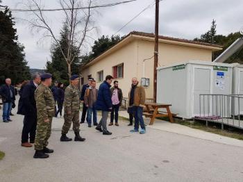 Επίσκεψη Υφυπουργού Μεταναστευτικής Πολιτικής Άγγελου Τόλκα στη δομή φιλοξενίας προσφύγων στην Αγία Βαρβάρα Βέροιας