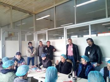 Περιοδεία κλιμακίου της Λαϊκής Συσπείρωσης στην ΑΛΜΜΕ