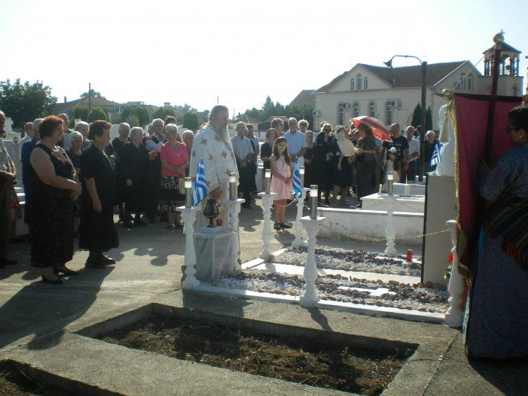 Τρισάγιο την Κυριακή στη Ν. Νικομήδεια στη μνήμη του οπλαρχηγού καπετάν Βαγγέλη Φωτιάδη