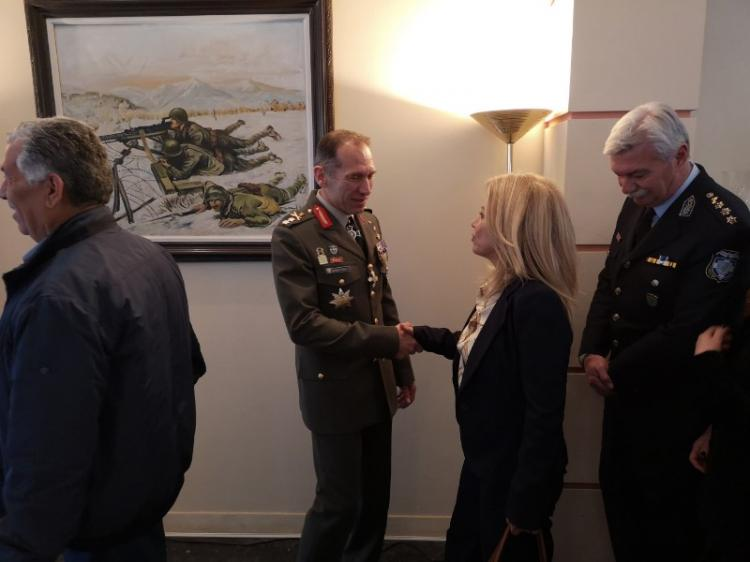 Παρουσία του αρχηγού ΓΕΣ η παράδοση-παραλαβή της 1ης Μεραρχίας Πεζικού «Σμύρνη»