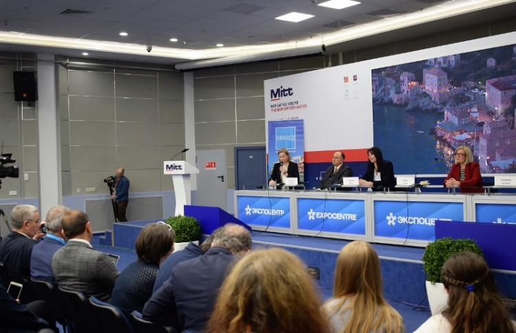 Συνεχίζεται η ισχυρή τουριστική ζήτηση από τη Ρωσία για την Ελλάδα, στην Έκθεση της Μόσχας ΜΙΤΤ η Ε. Κουντουρά