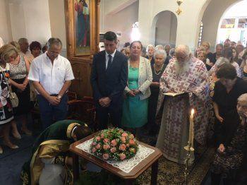 Εορτή της Υψώσεως Τιμίου Σταυρού στο Γηροκομείο Βέροιας