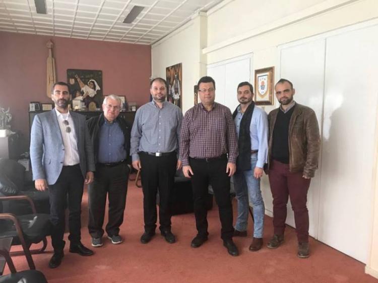 Επίσκεψη του υποψήφιου περιφερειάρχη Χρήστου Παπαστεργίου στην περιφερειακή ενότητα Ημαθίας - Νάουσα