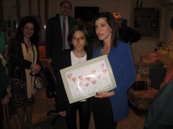 Επίσκεψη της Βουλευτού κ. Άννας Μισέλ Ασημακοπούλου στην Πρωτοβουλία για το Παιδί