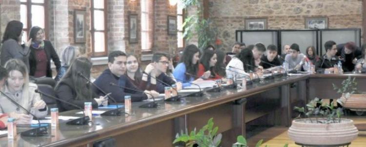 Την Παρασκευή η 3η συνεδρίαση του Δημοτικό Συμβούλιο Εφήβων Βέροιας