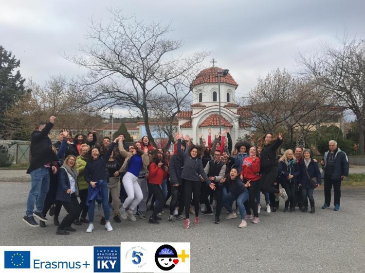 Διακρατική Εκπαιδευτική Δραστηριότητα του προγράμματος Erasmus+KA2 από το 5ο Γενικό Λύκειο Βέροιας