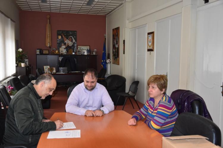Υπογράφηκε η σύμβαση για την κατασκευή και λειτουργία βρεφικού τμήματος στον Παιδικό Σταθμό Κοπανού