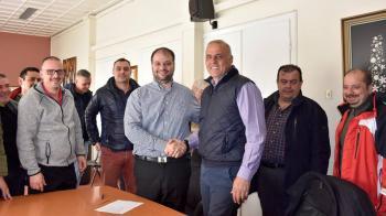 Υπογράφηκε η σύμβαση για το έργο ανάπλασης της οδού Μεγάλου Αλεξάνδρου της Νάουσας