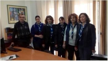 Επίσκεψη κλιμακίου του 2ου Συστήματος Αεροπροσκόπων Βεροίας στην Πρωτοβουλία για το Παιδί