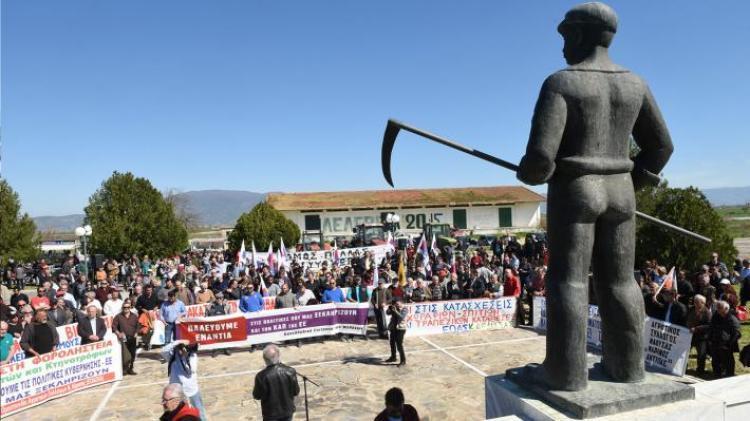 Συμμετοχή του «Μαρίνου Αντύπα» στη συγκέντρωση που οργάνωσε η Πανελλαδική Επιτροπή των Μπλόκων στο Κιλελέρ