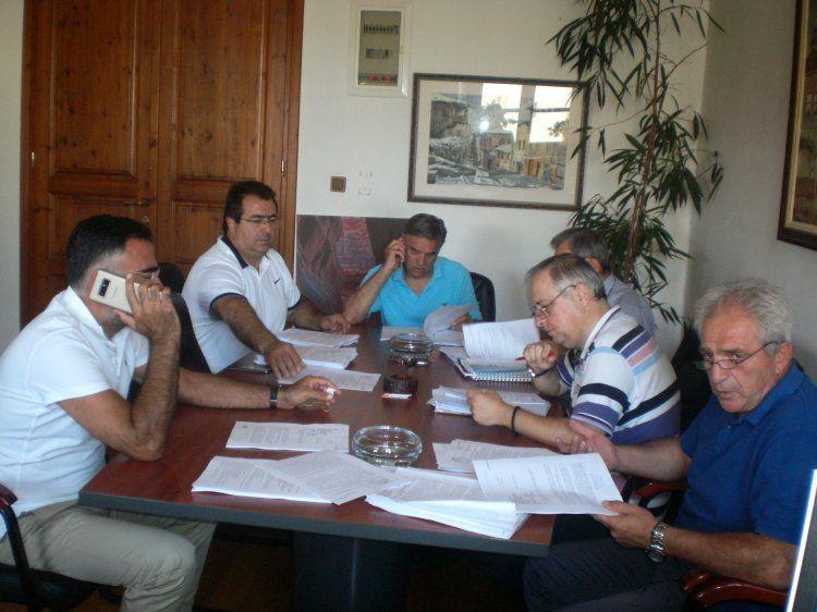 Με 23 θέματα τακτικά και 5 έκτακτα θέματα συνεδρίασε χθες η Οικονομική Επιτροπή Δήμου Βέροιας