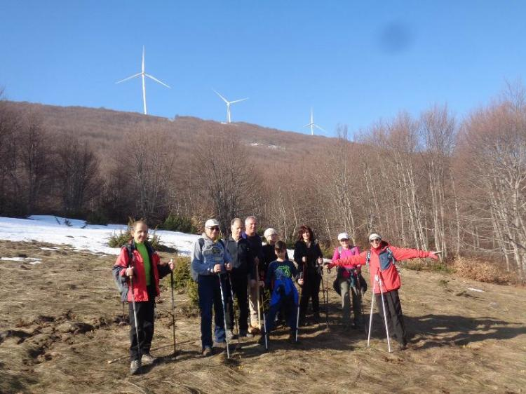 ΒΕΡΜΙΟ, Κορυφή Ιμπιλί 1665μ., Κυριακή 24 Μαρτίου 2019, με τους Ορειβάτες Βέροιας