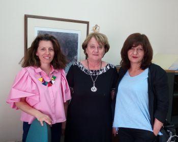 Για ζητήματα της Επιθεώρησης Εργασίας ενημερώθηκε η βουλευτής Φρόσω Καρασαρλίδου