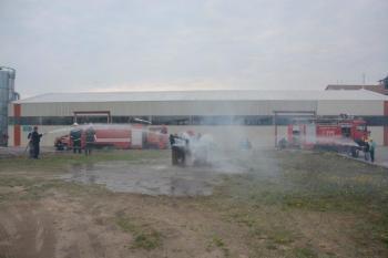 Άσκηση ετοιμότητας της Πυροσβεστικής Υπηρεσίας Νάουσας στην εταιρία Σ. ΣΙΝΟΣ & ΣΙΑ  ΑΕ