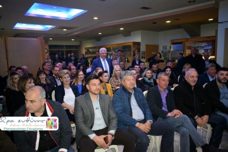 Συνάντηση των πρώτων υποψηφίων του συνδυασμού «Ώρα Ευθύνης» πραγματοποιήθηκε την Τετάρτη 27 Μαρτίου