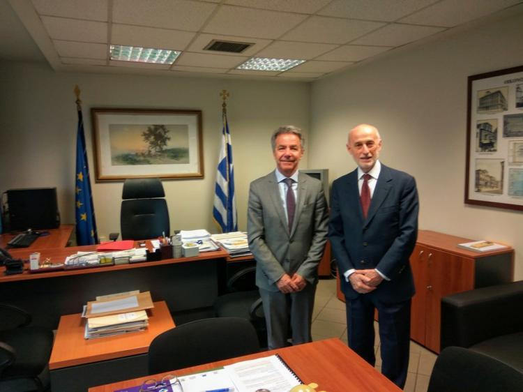 Προς ολοκλήρωση η συμφωνία Υπ. και Ευρωπ. Ταμείου Επενδύσεων για τη χρηματοδότηση των επενδυτικών σχεδίων στον αγροδιατροφικό τομέα
