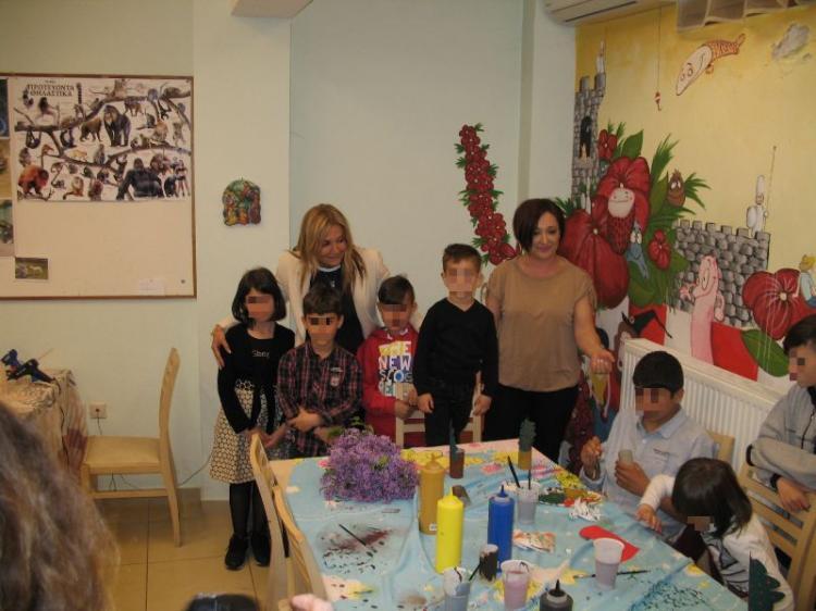 Επίσκεψη της κ. Μαρέβα Μητσοτάκη στο Σπίτι της Βεργίνας