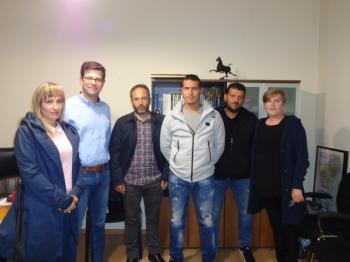 Συνάντηση Αγροτικού Συλλόγου Ημαθίας με τον Υφυπουργό Μεταναστευτικής Πολιτικής κ. Άγγελο Τόλκα