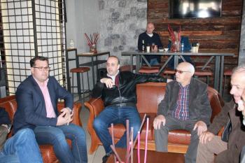 Συνάντηση του υποψηφίου δημάρχου Αλεξάνδρειας Κ. Ναλμπάντη με το δήμαρχο Πάφου