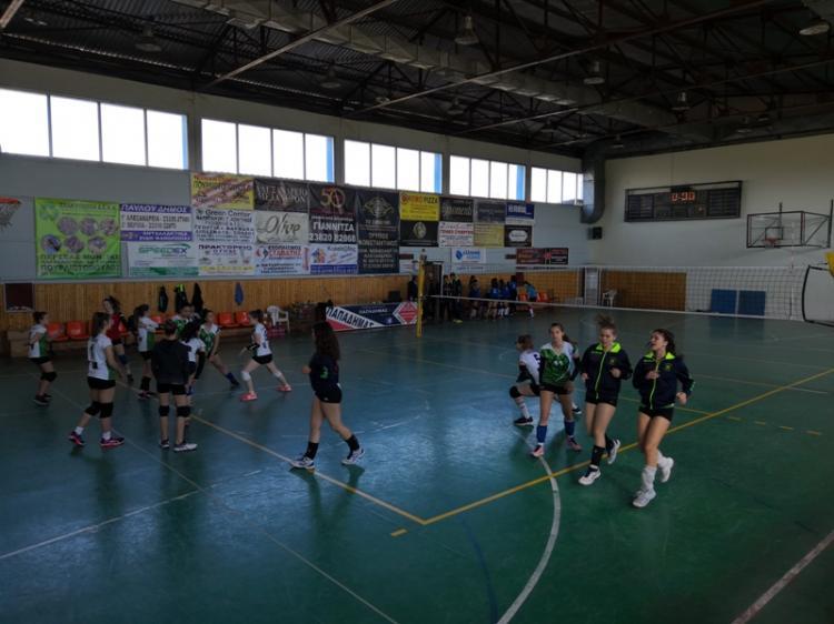 Ανώδυνη ήττα για τις γυναίκες του τμήματος πετοσφαίρισης του ΓΑΣ Αλεξάνδρειας